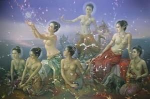 Kabinlabrahma's seven daughters