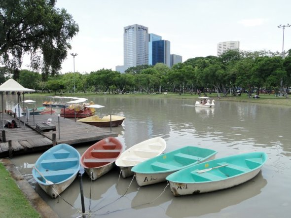 Boats at chatuchak park