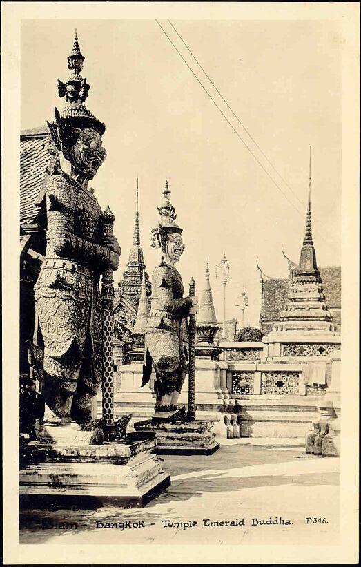 Yaksha in Wat Phra Kaew