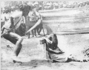 Siamese public beheading