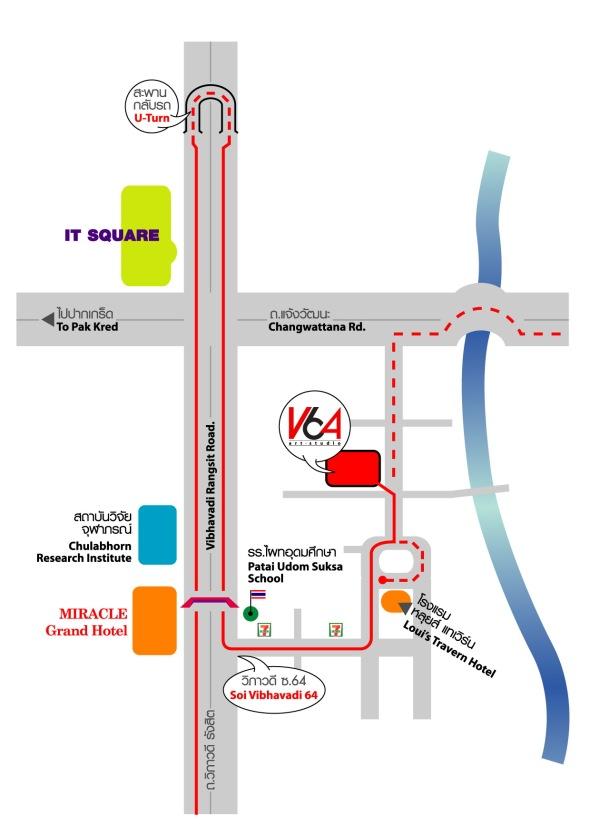V64 Map location